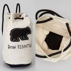 """Handbags - NWOT """"Bear Essentials"""" Cinch Backpack/Tote"""